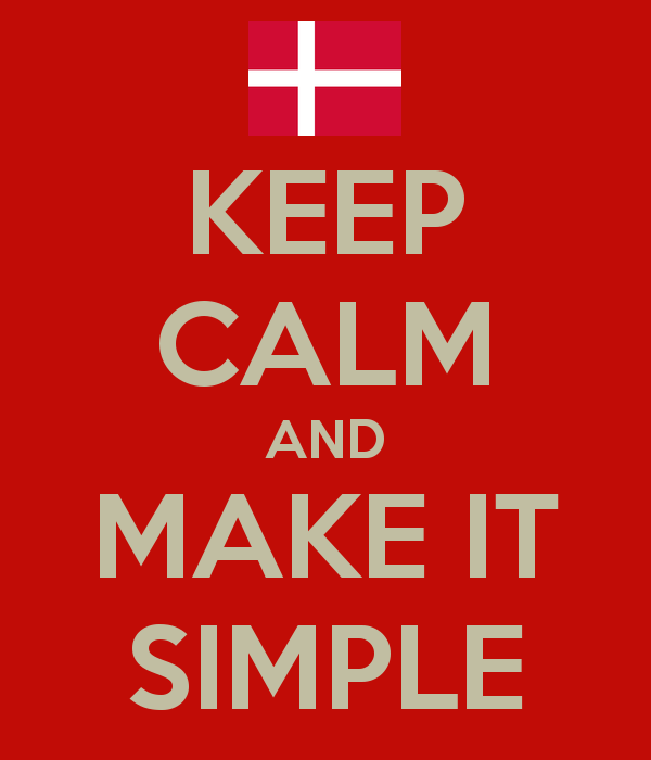 You want a successful proposal? – Do it like Danish and make it simple